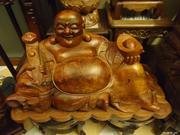Bangkok Art Gallery - Wood Carving Statues,  Custom Sculpture