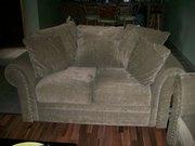 love seat & sofa