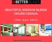 Popular Designs of Natural Blinds