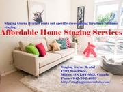 Best Furniture Rentals Home Staging
