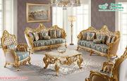 Luxurious European Style Living Room Sofa Set